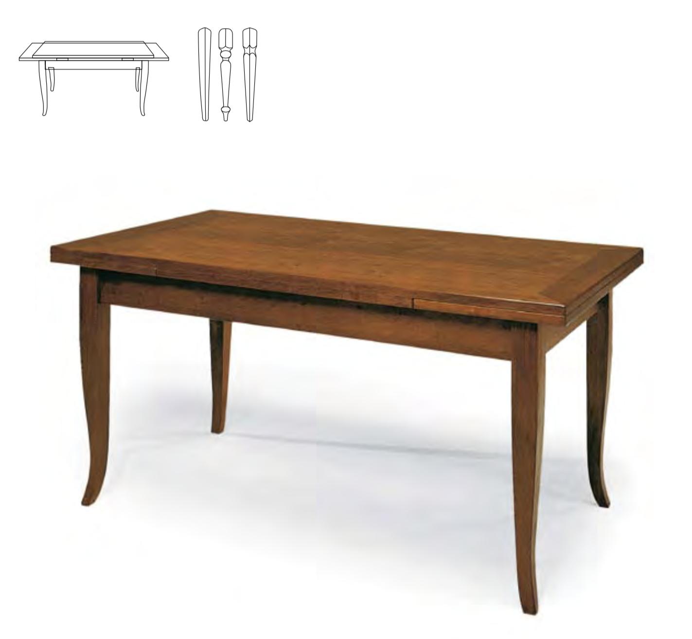 Tavolo A Bandelle Moderno.Tavolo In Tanganica Arredamenti E Mobili Classici E Moderni